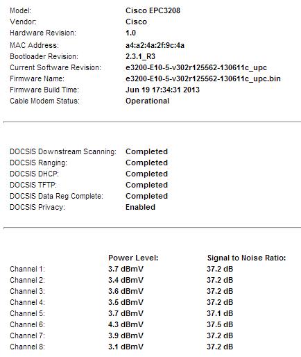 CiscoEPC3208-100