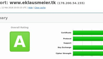 Remote Unlocking of Encrypted Disks – Elmar Klausmeier's Weblog